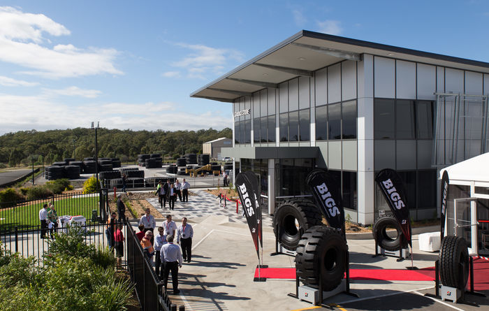 Tyre tech hub in Oz