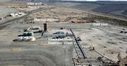 Leigh Creek turns out first syngas