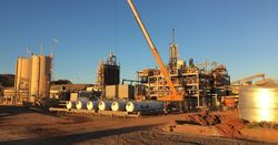 First sulphide gold at Nullagine