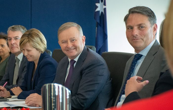 Albanese talks up renewables and coal