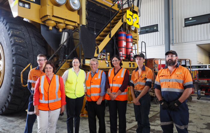 Palaszczuk sees bright future for Qld coal