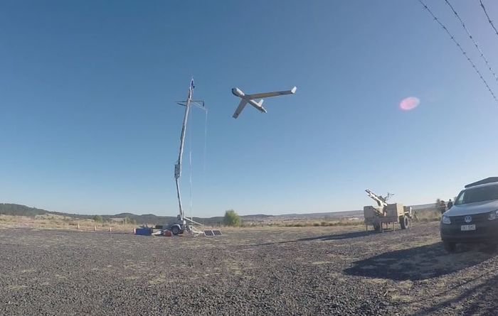 Chocks away for drone development: video