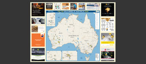 Australia's Mining Monthly, Top 100 Gold Mines of Australia 2020 Map