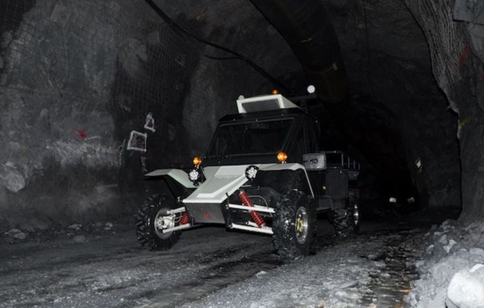 Battery-powered mining