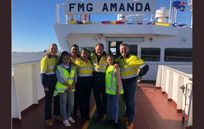 FMG honours for Amanda