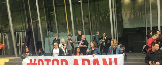 Adani protest goes online
