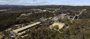 Clarence worker suffers dislocated shoulder in underground incident