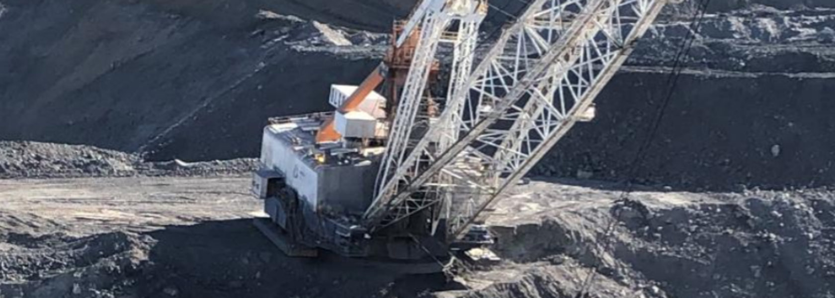 Bench failure at Qld open cut mine