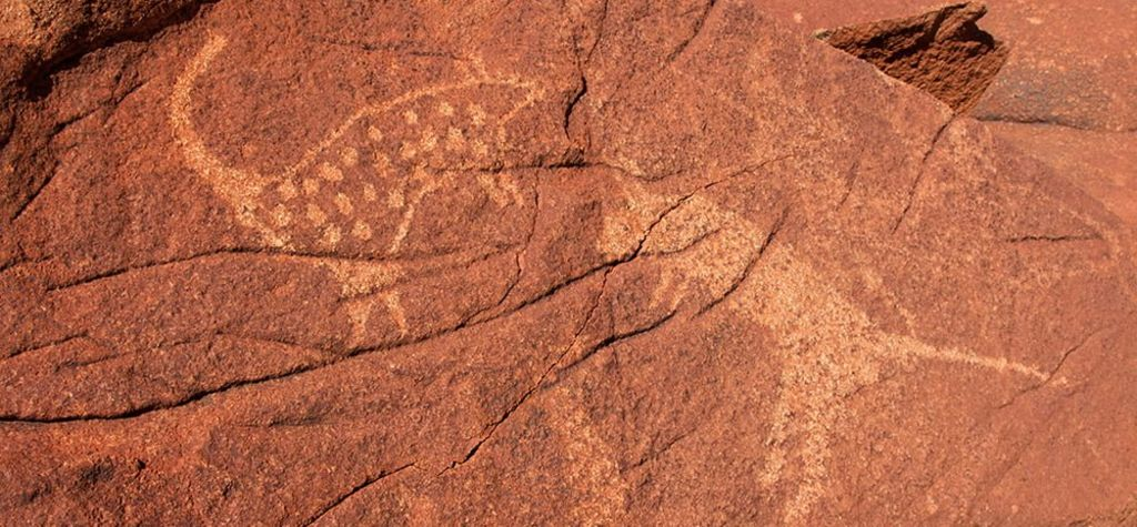 Rock art under watch