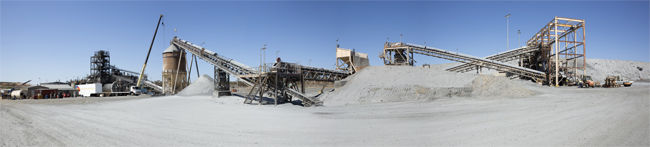 reenfields ill has the capacity to treat one million tonnes of ore per annum