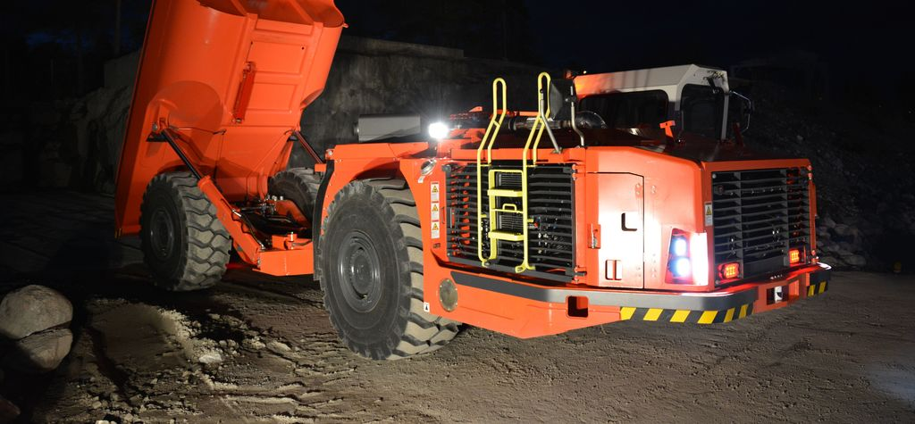 Sandvik sends out smart truck
