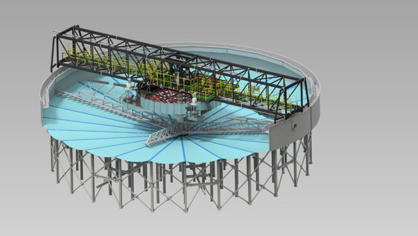 canahan hickener design for pilot plant