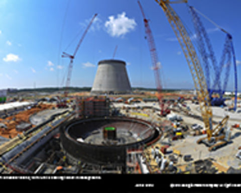 Five years of nuclear construction: video