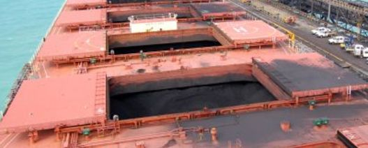 Coal cargo crew allowed off ship after five month wait off port