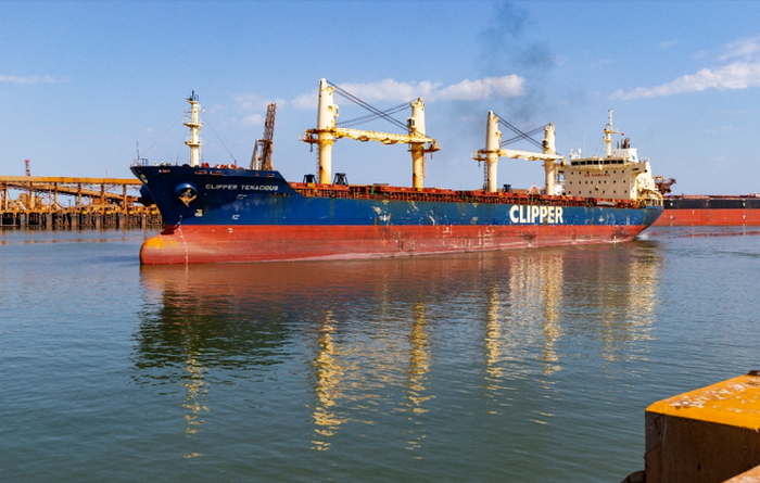 Altura ships keep Chinese course