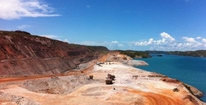 Rock fall at Koolan Island mine