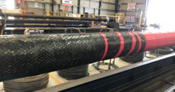 Hard nose slurry hose from Weir