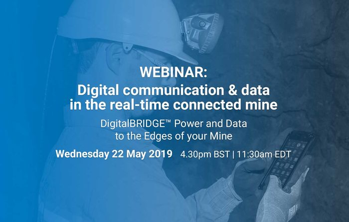 DigitalBRIDGE™ - Digital communication & data in the real-time connected mine