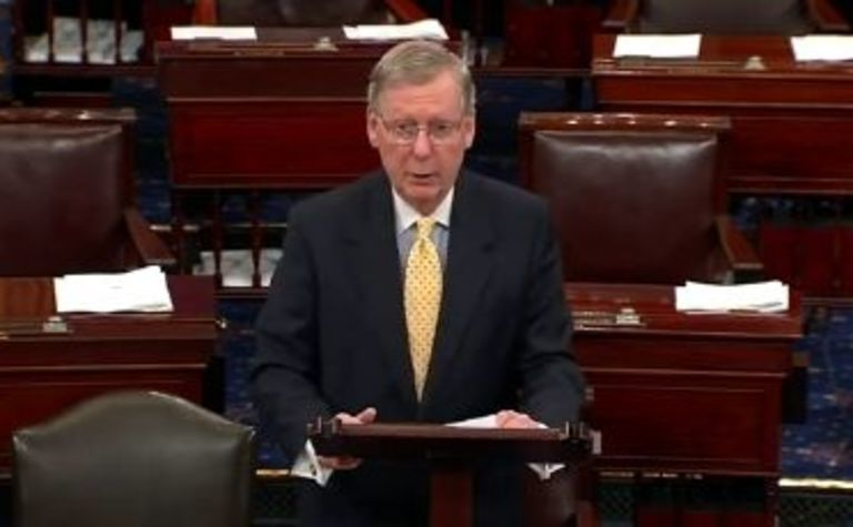 McConnell taking aim at Obama's coal war