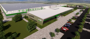 Townsville battery plant in progress
