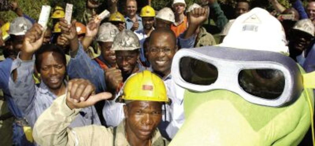 South Africa coal safety on par