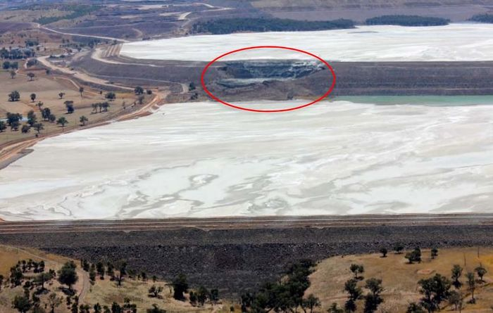 Effect of Cadia tailings failings laid bare