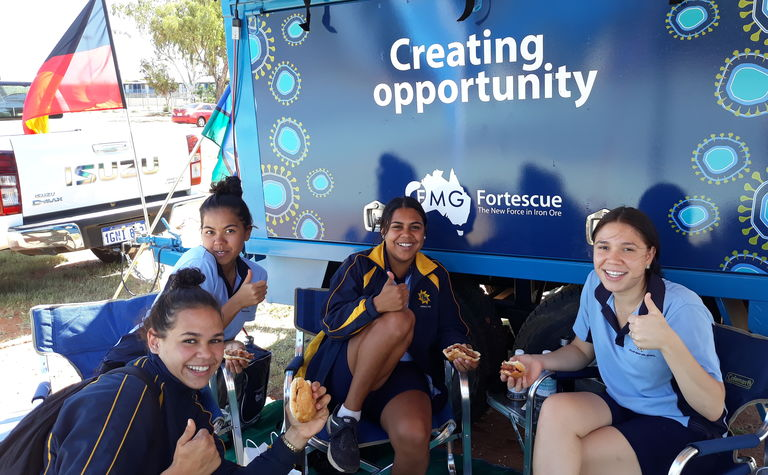 Recruitment trailer hits the road