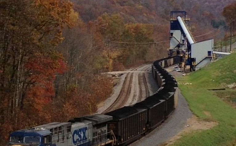 First coal departs Arch Leer loadout
