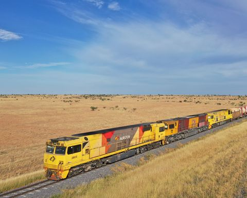 Mount Isa line back in business