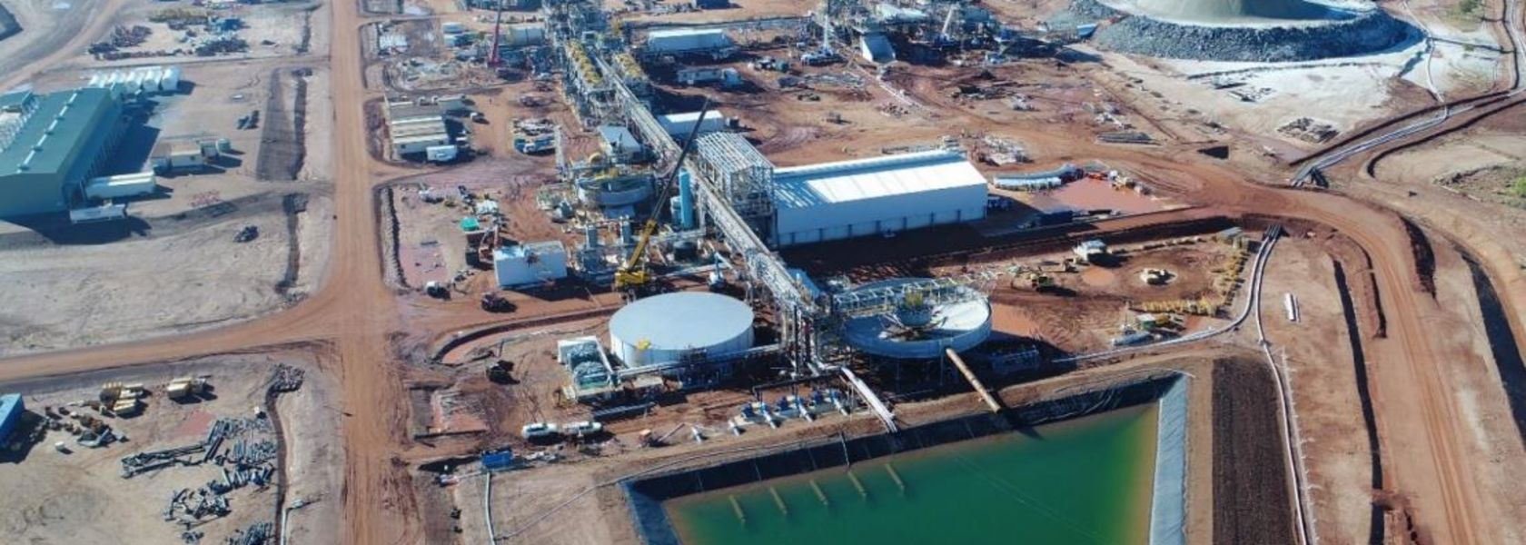 Pilgangoora concentrator commissioning