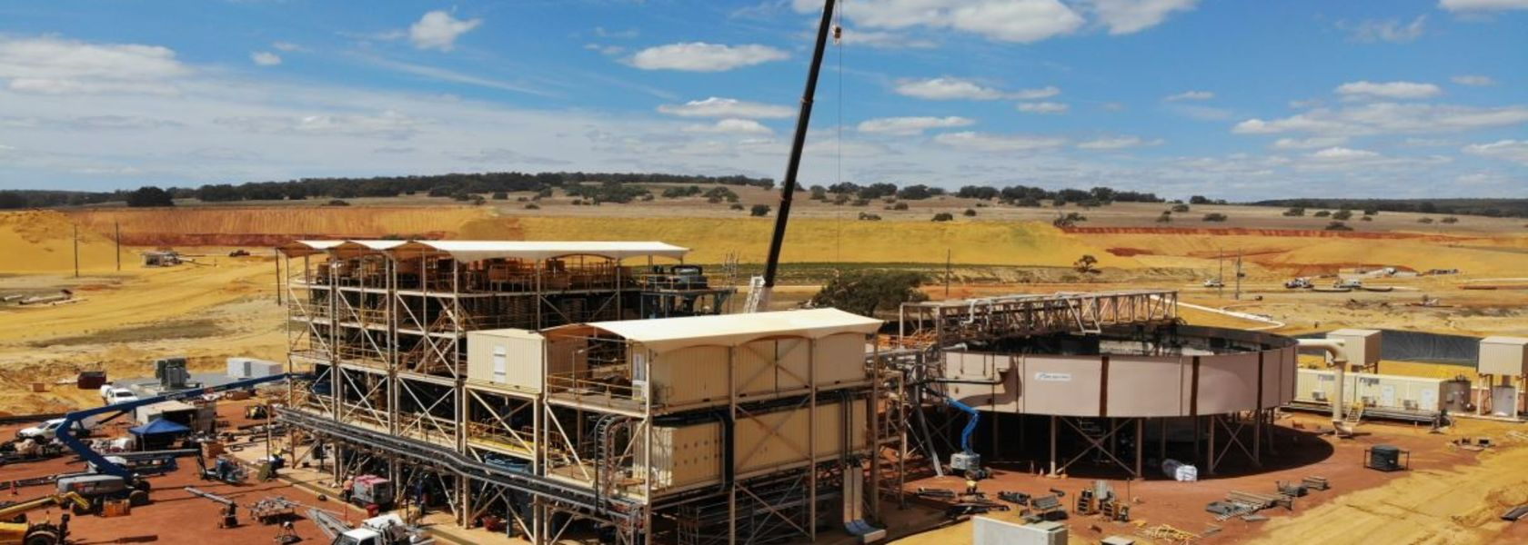 Image closes on Boonanarring wet commissioning