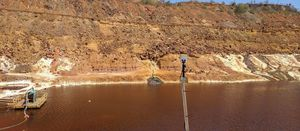 Glass Terra working with Inmarsat to monitor tailings
