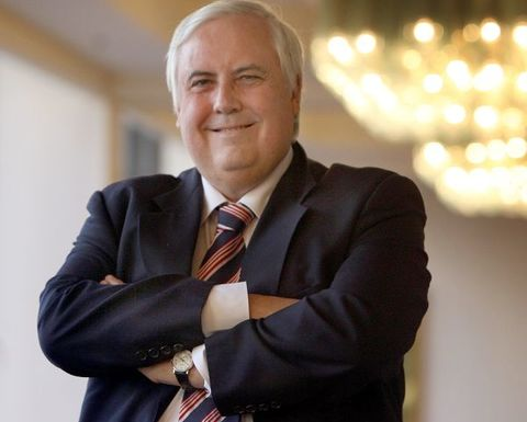 Palmer aiming to be Australia's next PM