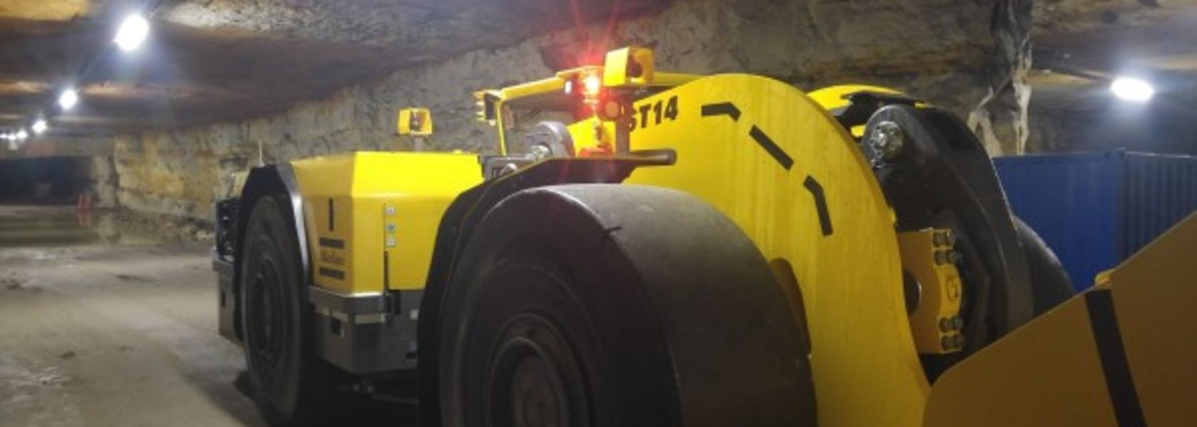 Cavotec providing interface for Atlas Copco loaders