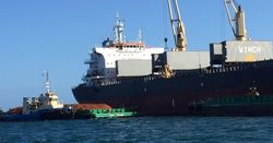 First ship sails from Metro Mining's Bauxite Hills mine