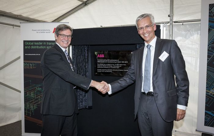 ABB marks 60 years of transformers in Perth