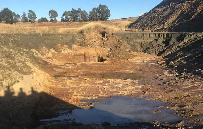 Excavations contributed to Cadia tailings dam failure