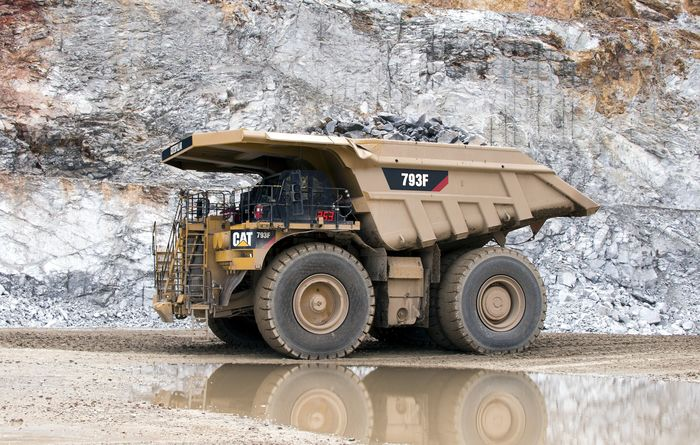 Cat 793F marks success in emissions trials