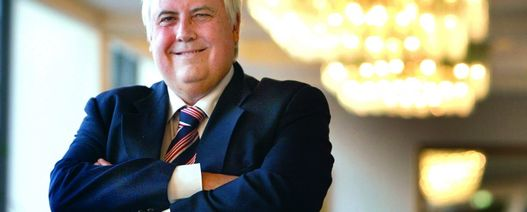 Clive Palmer charged