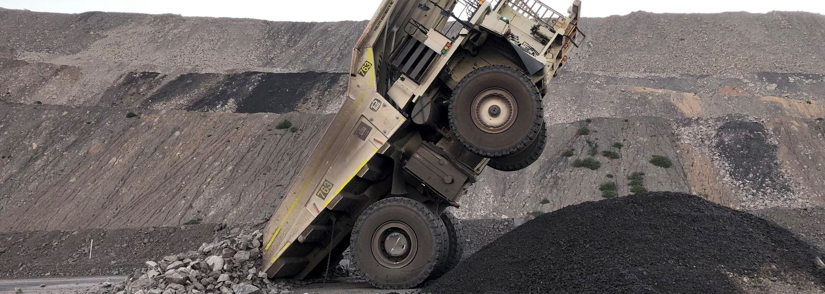 Micro-sleep causes haul truck to sit up and take notice
