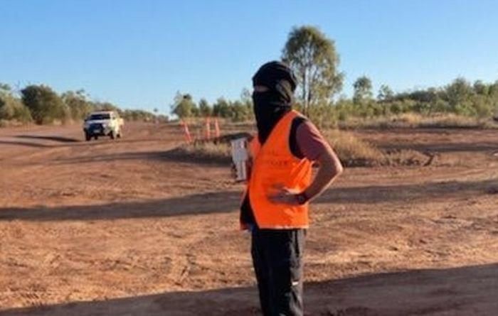 Activists stop work on Adani's rail corridor over river protest