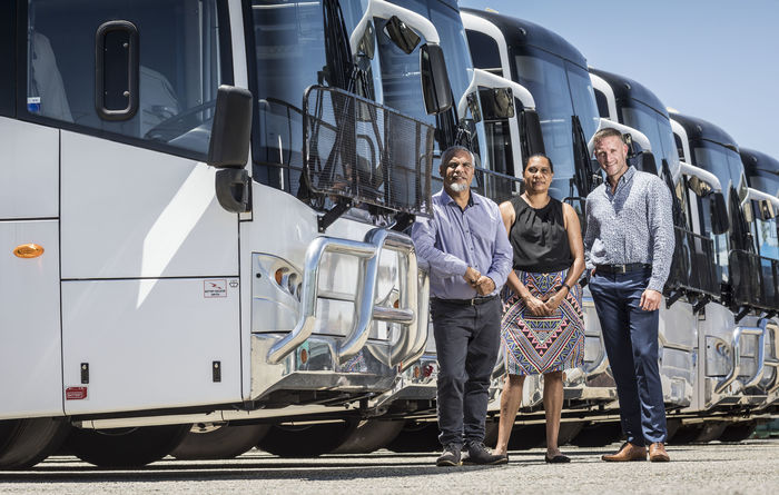 Pilbara Minerals picks Bithari for bus services