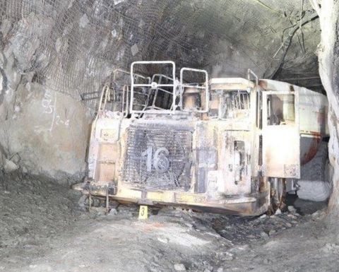 Regulator investigating Tritton haul truck fire