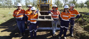 Adani launches into Carmichael construction