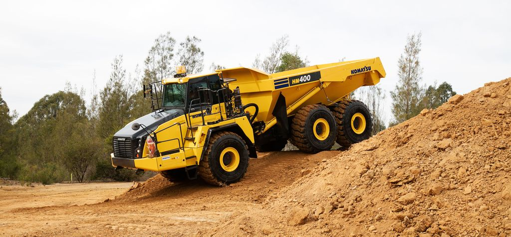 Komatsu ADTs come with Tier 4 engines