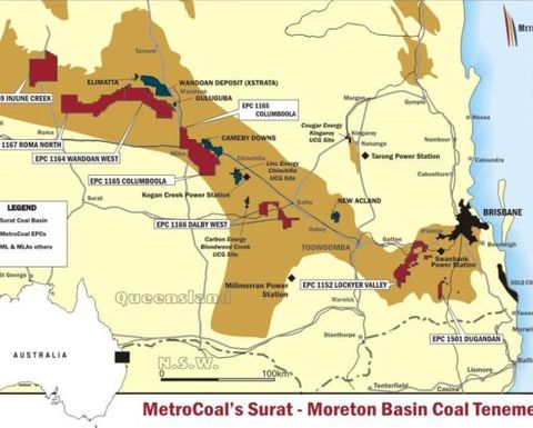 MetroCoal on cusp of Chinese JV