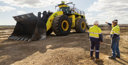 Mineware rolls out wheel loader monitor