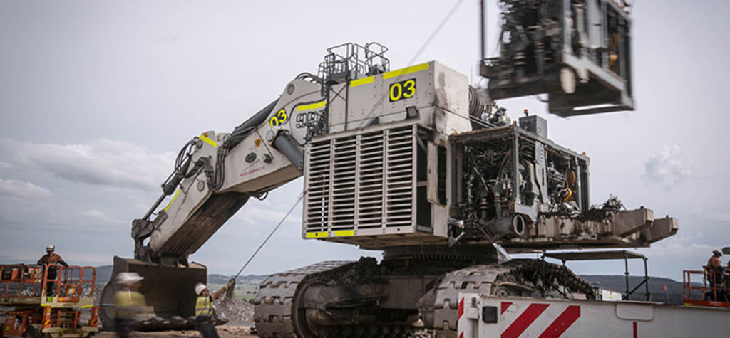 First repowered Liebherr R 996 B excavator delivered in Hunter Valley