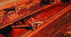 BHP iron ore production up
