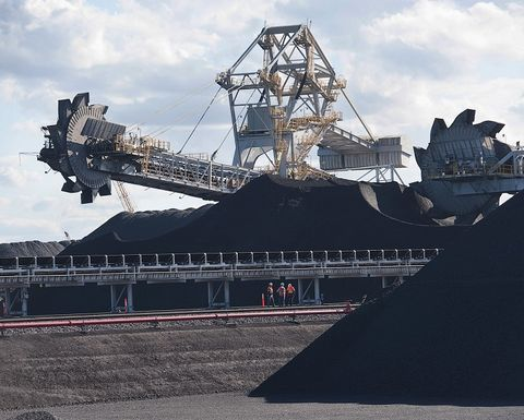 Coal overtakes iron ore as Australia's largest export